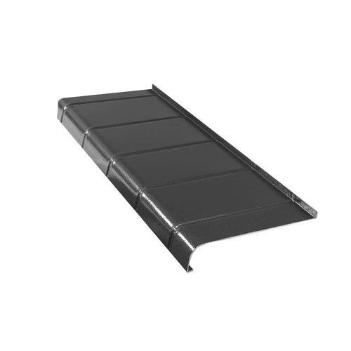 Parapet zewnętrzny 25x120cm aluminiowy antracyt płytka
