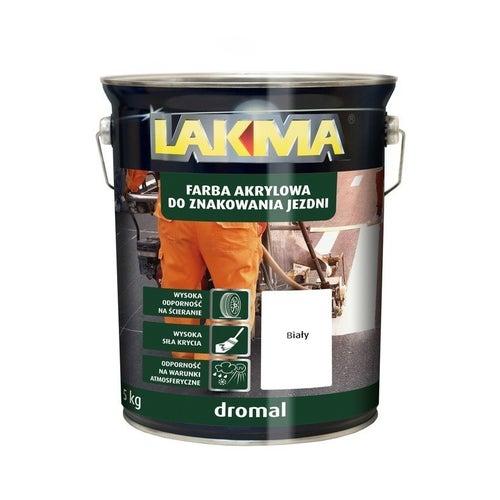 Farba do znakowania Dromal Lakma biały 5kg