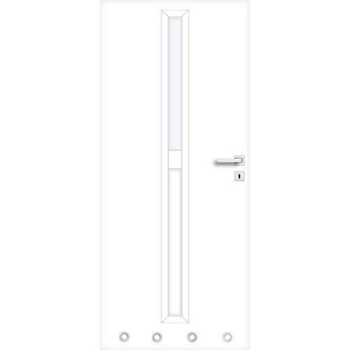 Skrzydło łazienkowe Klaro 80 lewe biały
