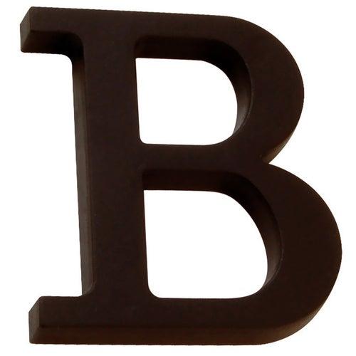 Litera B przybijana brąz 90 mm