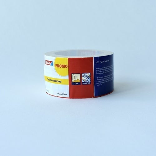 Taśma malarska Tesa Tape 50m x 30mm dwupak