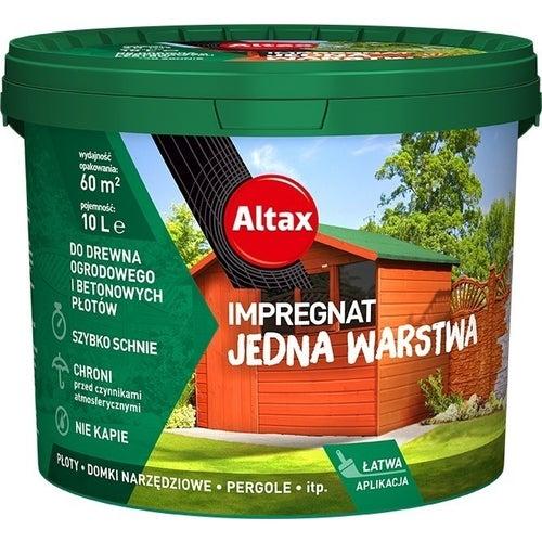 Impregant ogrodowy Altax brąz 10l