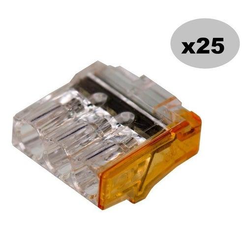 Szybkozłączka 3x2,5mm2 25szt