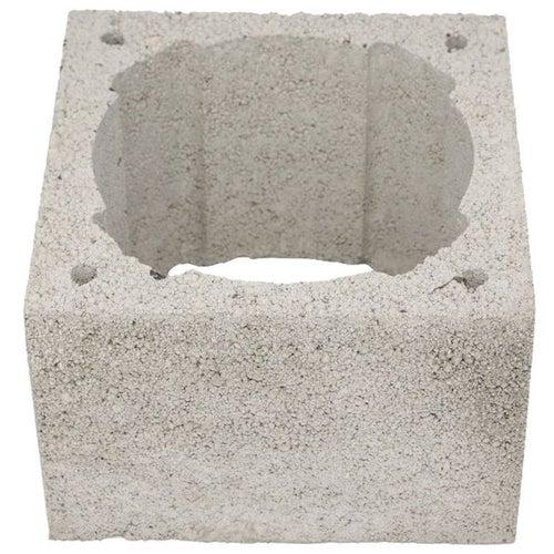 Pustak kominowy keramzytowo betonowy Techniko, wym. 36x26x24 cm