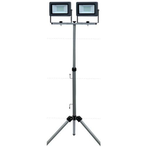 Naświetlacz LED 2x50W 2x4250lm IP65 statyw