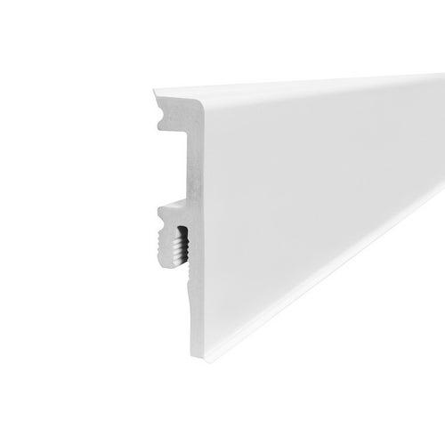Listwa przypodłogowa VENEZIA 2500x75mm Biała op. 5 szt