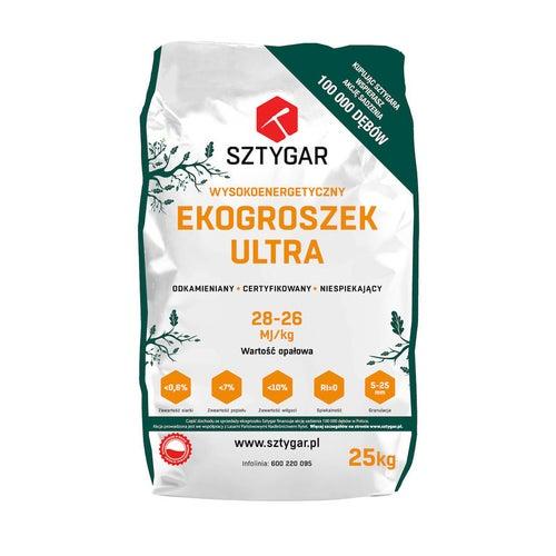 Ekogroszek Sztygar Ultra 28MJ 25 kg