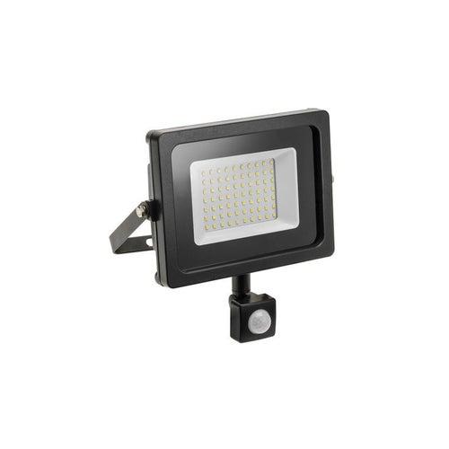 Naświetlacz LED 50W 4000lm 6400K IP65 z czujnikiem ruchu