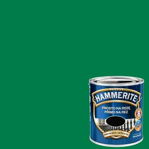 Farba antykorozyja Hammerite zielony połysk 0,7l