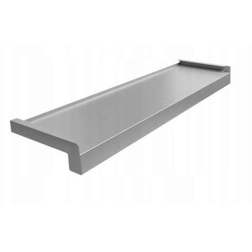 Parapet zewnętrzny 20x120cm stalowy ocynkowany