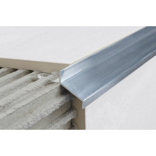 Listwa aluminiowa A99 inox gładki 250 cm