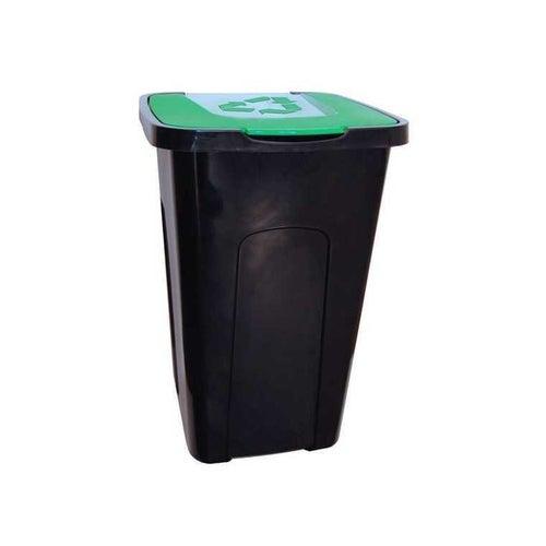 Pojemnik na śmieci 50 l do sortowania zielony