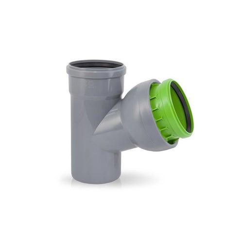 Trójnik kanalizacyjny nastawny 110 mm
