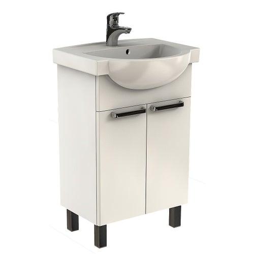 Zestaw szafka z umywalką Freja 55 cm L79004000
