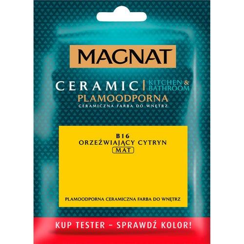 Farba Magnat Ceramic Kitchen&Bathroom tester orzeźwiający cytryn 0,03l