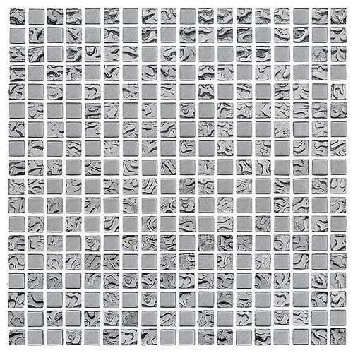 Mozaika szklana DD1 Silver Mix 15 30x30 cm gat.1