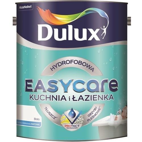 Farba Dulux EasyCare Kuchnia & Łazienka biała 5l