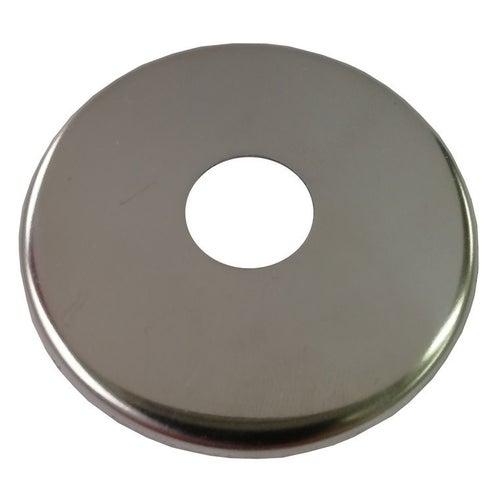 Rozeta pojedyncza do zaworów ø 25 mm, 58 mm, stal nierdzewna