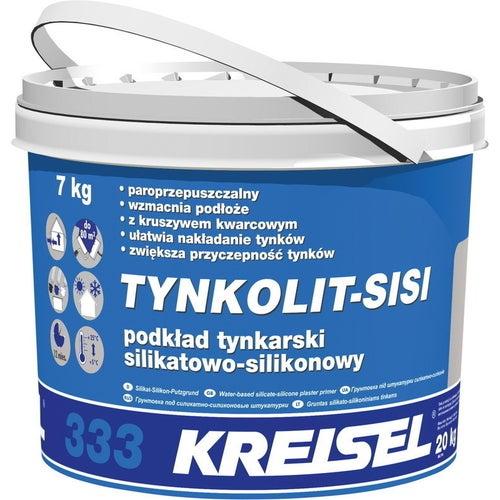 Podkład tynkarski silikatowo-silikonowy Kreisel Tynkolit Sisi-333 7 kg, biały