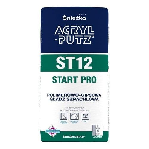 Gładź szpachlowa Śnieżka Acryl Putz Start Pro 5kg