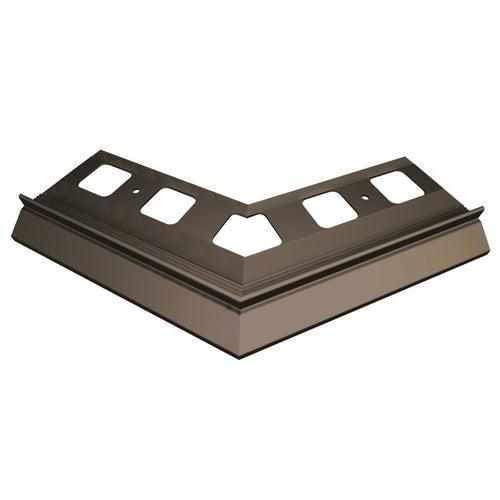 Narożnik 135° zewnętrzny ciemnobrązowy + elementy montażowe