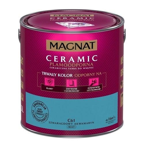 Farba Magnat Ceramic szmaragdowy akwamaryn 2,5l