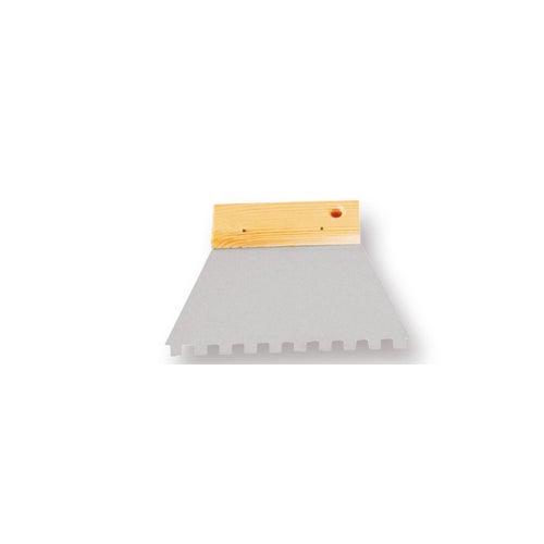 Szpachla trapezowa zebata 6x6 150 mm