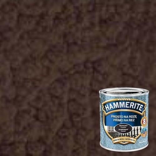 Farba antykorozyja Hammerite brązowy młotkowy 0,7l