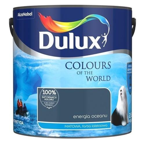 Farba Dulux Kolory Świata energia oceanu 2,5l