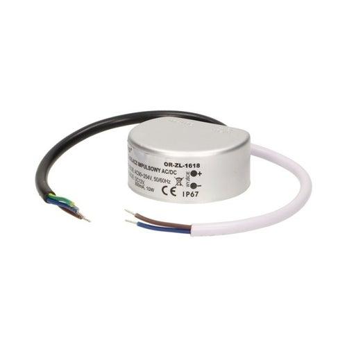 Zasilacz LED 10W 12V IP67 do puszki