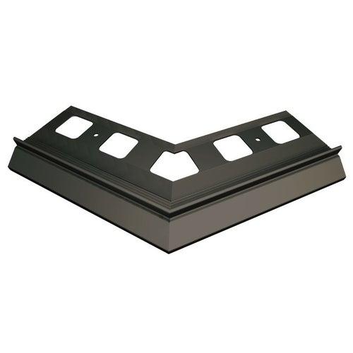 Narożnik 135° zewnętrzny grafitowy + elementy montażowe