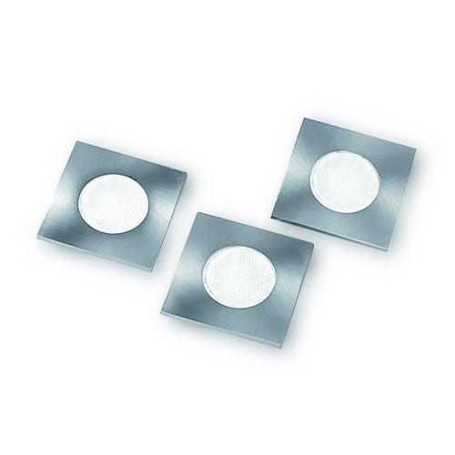 Zestaw opraw podszafkowych Marbella LED 3x1,5W 80lm 2700K IP20 satyna
