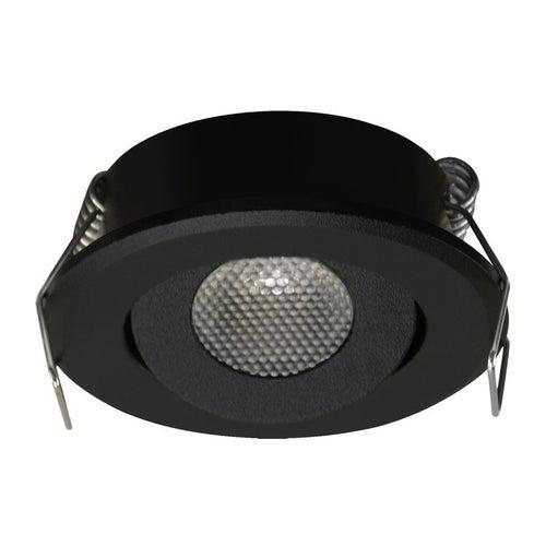 Oczko sufitowe Mati LED C 1,5W 90lm 4000K czarne
