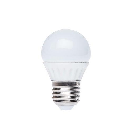 Żarówka LED 6W E27 520lm kulka ciepło biała