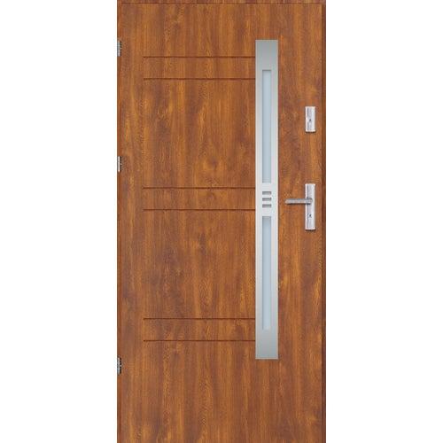 Drzwi wejściowe Nordica 3 80 lewe złoty dąb