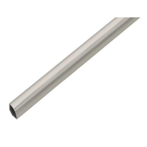 Ćwierćwałek PVC stalowy 1000x15x15 mm