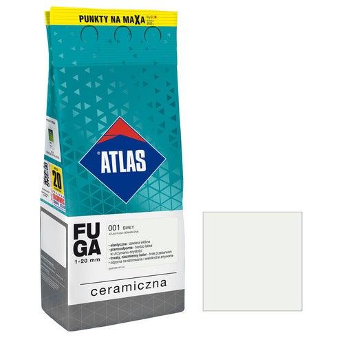 Fuga ceramiczna Atlas 001 biały 2kg