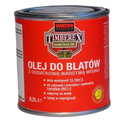 Olej do blatów z woskiem bezbarwny 0,2l