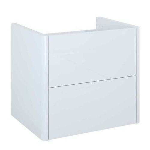 Szafka wisząca Sottile 60 cm 2 szuflady biała