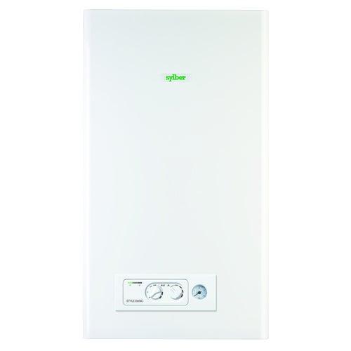 Kocioł gazowy kondensacyjny Sylber Basic 25S 5-25 kW, 2-funkcyjny (20115795)