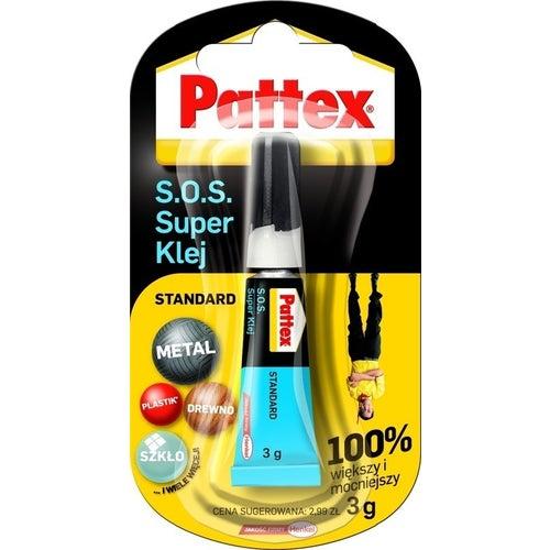 Klej do drewna Pattex S.O.S Super Klej Standard 3g