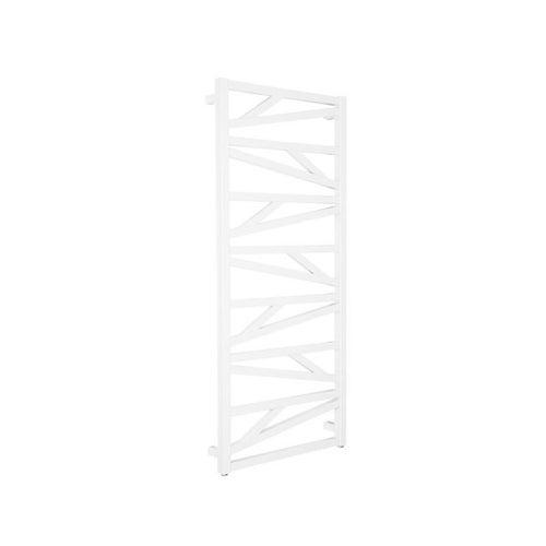 Grzejnik łazienkowy Yuto 120x50 cm, biały matowy