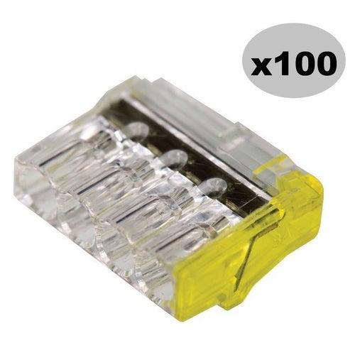 Szybkozłączka 4x2,5mm2 100 szt