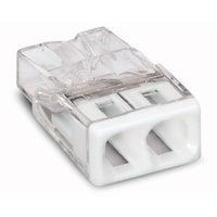 Szybkozłączka mini Wago 2x0,5-2,5mm2 100szt