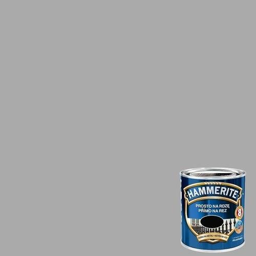 Farba antykorozyja Hammerite srebrny połysk 0,25l