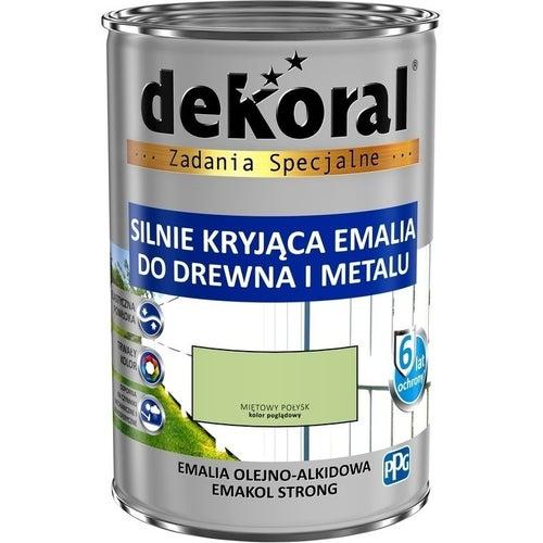 Emalia olejno-alkidowa Dekoral Emakol Strong miętowy 0,9l