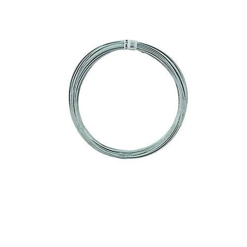 Lina stalowa ogrodzeniowa krążkowana fi 3 mm