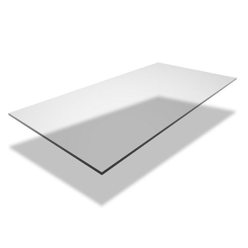 Poliwęglan lity grubość 2 mm 0,5x1,25 m przezroczysty bez UV