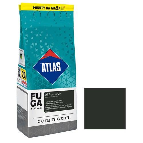 Fuga ceramiczna Atlas 037 grafitowy 2kg