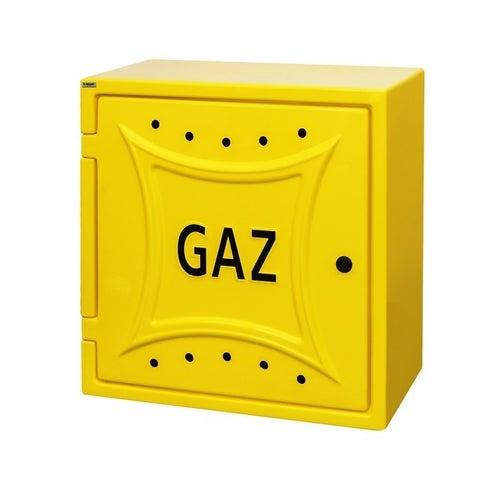 Szafka gazowa G63 60x60 cm z plecami, żółta